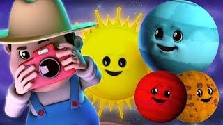 Gambar cover planet lagu   belajar planet   lagu pendidikan   sajak anak-anak   Nursery Rhyme   Planets Song