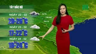 VTC14 | Thời tiết 12h ngày 21/02/2018| chiều nay bầu trời miền Bắc sẽ giảm mưa và khô ráo trở lại
