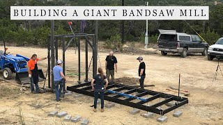 Building a Giant Bandsaw Mill - Making the Carriage