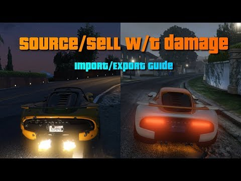 GTA V Online Guide: Max Profit In Import/export Vehicle Cargo | PC (solo)