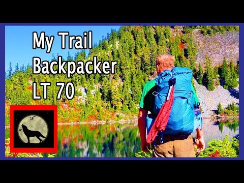 My Trail Backpacker LT 70 Liter Ultralight Backpack On Trail Review
