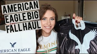 AMERICAN EAGLE FALL HAUL & TRY ON   2017