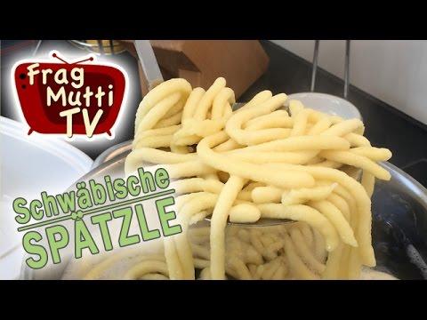 Spätzle selber machen (Pressen & Schaben) | Frag Mutti TV