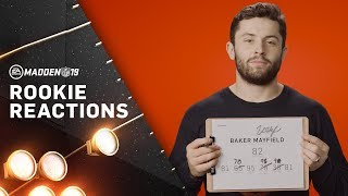 NFL Rookies React to Madden 19 Ratings