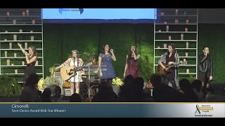 "Cimorelli Singing ""Fight Song"", ""I Got You"", and ""You're Worth It"" At The 2015 Global Genes Gala"