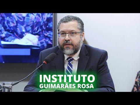 Ministro defende a unificação da política pública de difusão cultural no exterior - 27/11/19