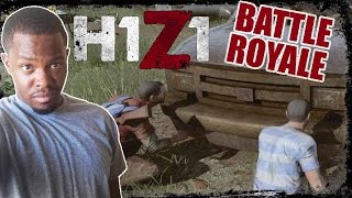 H1Z1 Battle Royale Gameplay - MY WHITE FRIEND PICKLE! | H1Z1 PC Gameplay
