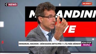 Alexandre del Valle chez Morandini sur CNEWS au sujet des manifestations pro Traoré