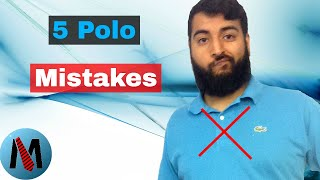 How To Wear Polo Shirts : 5 Mistakes To Avoid