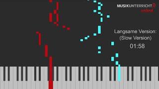 C. Petzold – Menuett in g-Moll (urspr. J.S. Bach, BWV Anh. 115)