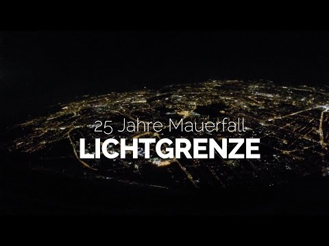 Lichtgrenze in Berlin