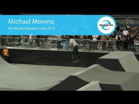 Michael Moreno - ISA Men's World Scooter Semi Finals 2019