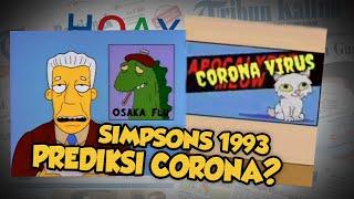 Hoax or Fact: Episode Simpsons tahun 1993 Telah Prediksi Wabah Virus Corona?