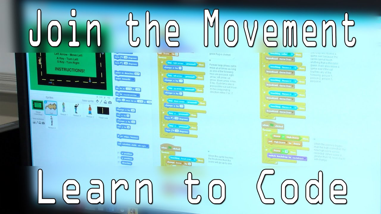 Join the Movement. Learn to Code