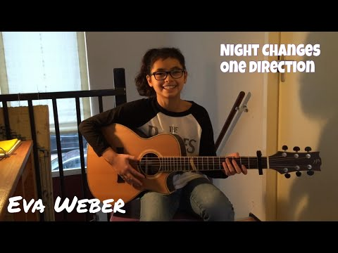 Night Changes ~ One Direction (1D) ~ Fingerstyle Guitar ~ Eva Weber ~ Arr. Andrew Foy Mp3