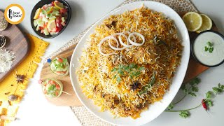 Extreme Chicken Biryani Recipe By Food Fusion