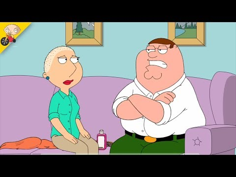Lois goes bald for Peter - Family Guy Season 17 Episode 12 Bri,Robot