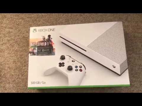 Unboxing Xbox one S | Battlefield 1 Bundle | Amazon
