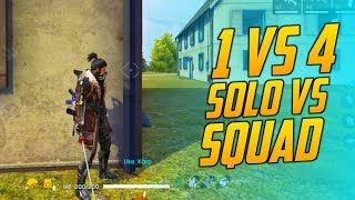 One vs Squad Tips & Trick Gameplay - Garena Free Fire- Total Gaming