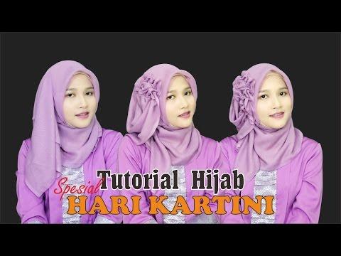 Video Tutorial Hijab Segiempat Paris | Spesial Memperingati Hari Kartini