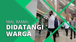 Setelah Disambangi Jokowi, Mal Sumarecon Bekasi Ramai Didatangi Warga