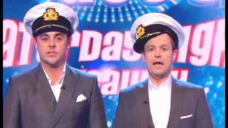 Saturday Night Takeaway: Ant and Dec forced to apologise as guest SWEARS live on air