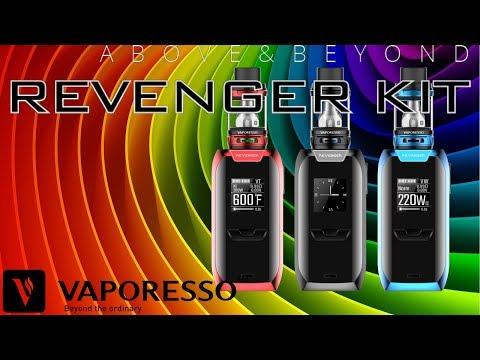 Revenger Kit 5 ml - Vape [Vaporesso] | Apegos Perú