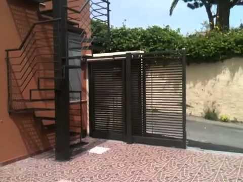 Cancelli Scorrevoli A Due Ante.Cancelli Telescopici Easy Gate