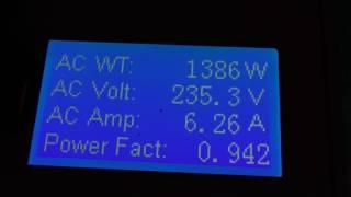 8 KW Powerjack 12 V to 240 V pure sine wave  inverter