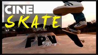 CineSKATE FPV | SKATEBOARD and FPV CINEWHOOP = BOOM!!!!! | SkatePark Marina di San Nicola | ITALY
