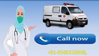 Hire Life Sustaining Road Ambulance Service in Muzaffarpur and Gaya