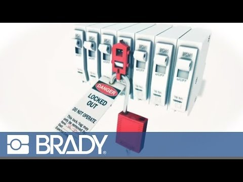 How to use a Snap-on Breaker Lockout by Brady