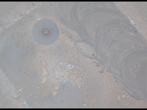 ASMR Cleaning A Dirty Tub *Abrasive Scrubbing*