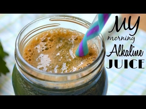 Video Easy & Healthy Breakfast in LESS than 5 minutes! | My Morning Alkaline Juice