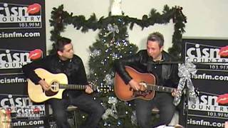 """Johnny Reid Christmas Album Release with Mike McGuire - Live Performance of """"Dance With Me"""""""