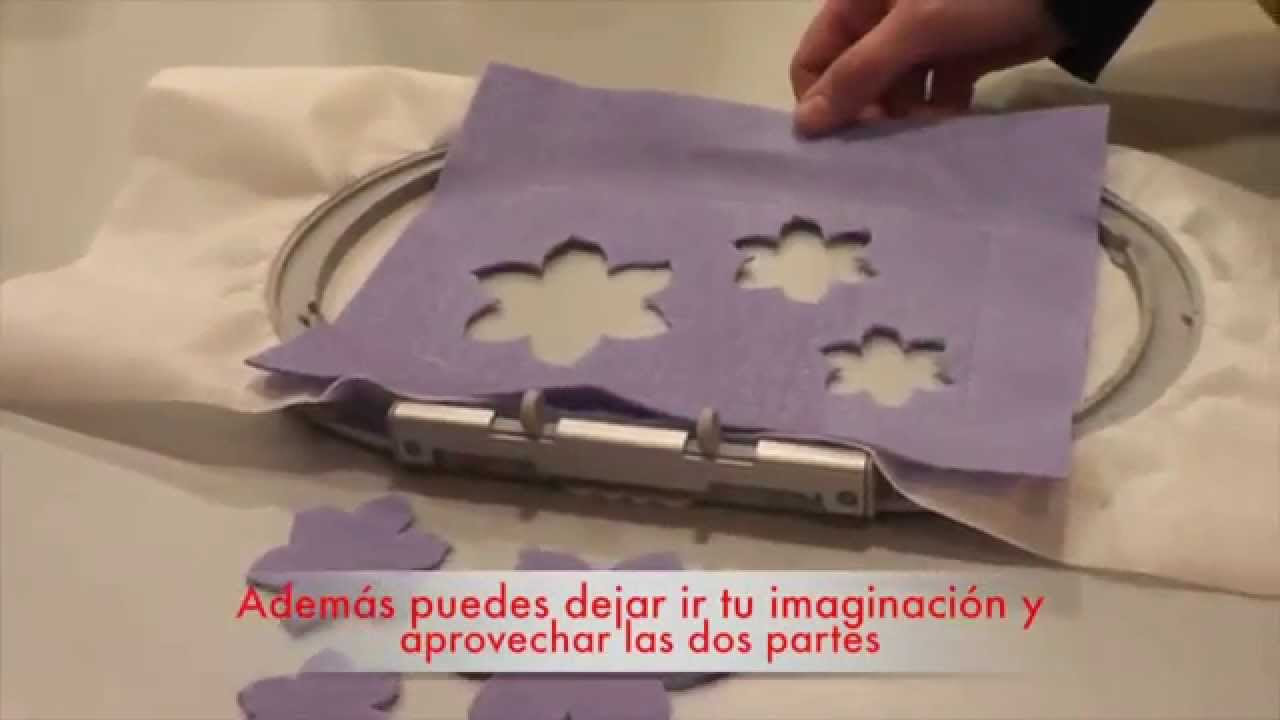 BERNINA CutWork: Has visto cómo funciona el CutWork?