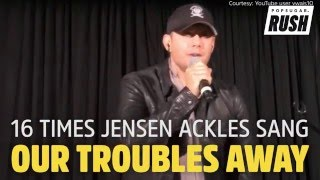 Дженсен Эклз, 16 Times Jensen Ackles's Singing Melted Our Hearts