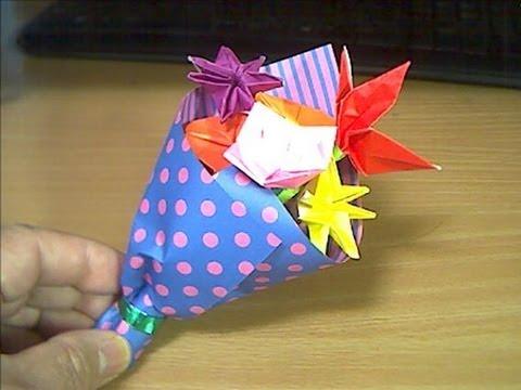 ハート 折り紙:折り紙 花 ブーケ-matome.naver.jp