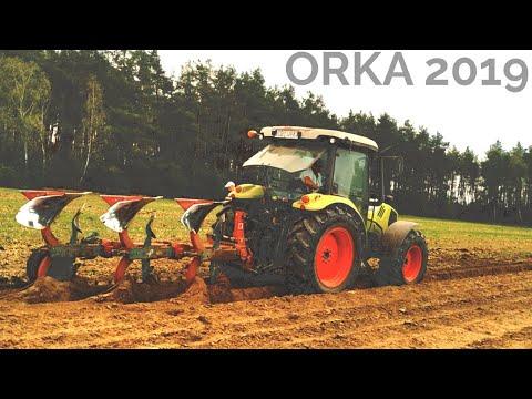 ☆ ORKA 2019 ☆ CLAAS ATOS 340 ☆ KVERNELAND MOD. F ☆