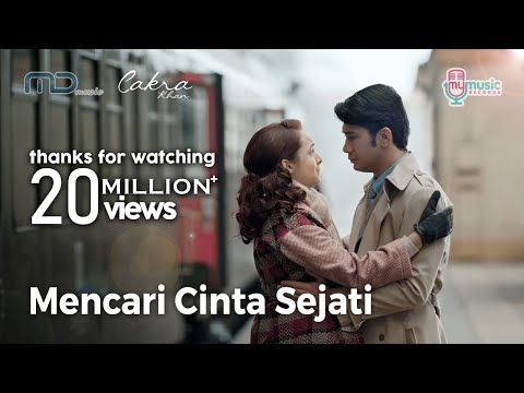 Cakra khan   mencari cinta sejati  official music video  ost  rudy habibie