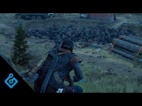 Gameplay horde - Game Informer de Days Gone
