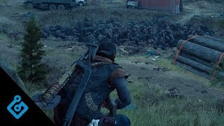 Game Informer Fights The Horde In Days Gone
