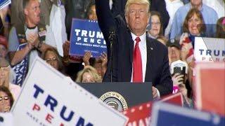 President Donald Trump 100 days rally full speech in Harrisburg, Pennsylvania 2017