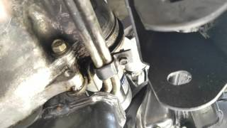 Starter removal and install