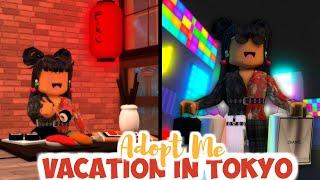 TOKYO JAPAN VACATION In Adopt Me...Travelling | SunsetSafari