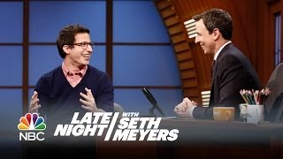 Andy Samberg Interview, Pt. 2 - Late Night with Seth Meyers