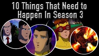 10 Things That Need To Happen In Season 3 Of Young Justice: Outsiders