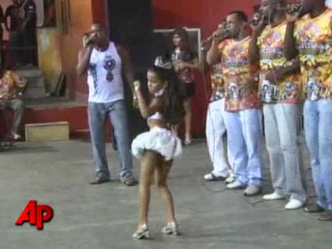 Preteen As Sexy Samba Queen Stirs Controversy