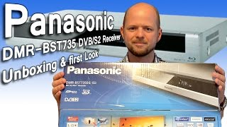 Panasonic DMR-BST 735 Vorstellung, Unboxing & first Look [1080p FullHD]