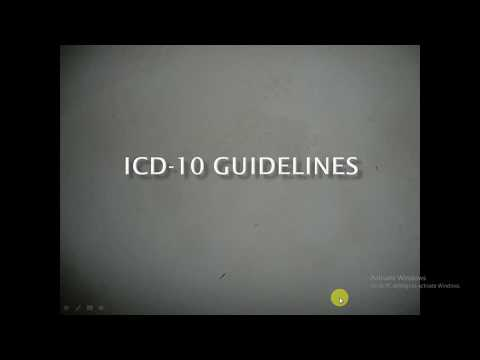 ICD 10 Guidelines  chapter-1 Part - 1  | Medical Coding | Emergency Department